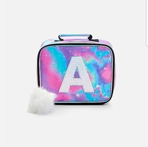 New Justice galaxy Initial A lunchbox